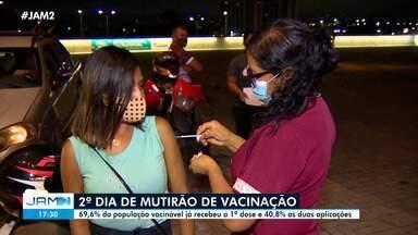 Manaus encerra mutirão de vacinação - Manaus encerra mutirão de vacinação
