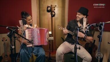 Lucy Alves e Tato da Falamansa cantam 'Xote dos Milagres' - Confira