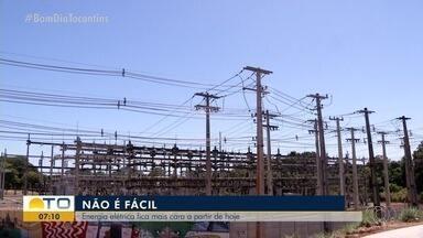 Energia elétrica fica mais cara a partir desta quinta (1º) - Energia elétrica fica mais cara a partir desta quinta (1º)