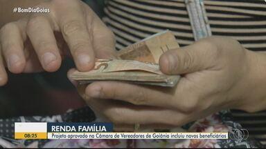 Vereadores aprovam ampliação do programa Renda Família - Projeto inclui novos beneficiários.