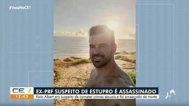 Ex-PRF suspeito de estupro é assassinado - Saiba mais em g1.com.br/ce