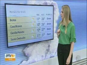 Confira a previsão do tempo para a região para o final de semana - Veja a previsão do tempo para a região neste fim de semana.