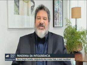 Márcio Sérgio Cortella fala sobre a intolerância na pandemia - Filósofo sobre o tema da EPTV Escola deste ano.
