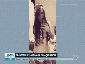 Travesti é assassinada em Açailândia - Registrada como Danillo Domingos Cardoso de Sousa, a vítima era conhecida como 'Dani', de 27 anos.