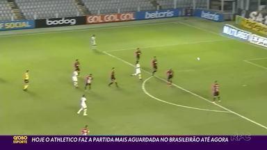 Athletico enfrenta o Bragantino no Brasileirão - Duelo das sensações é marcado por desfalques de jogadores que estão com a seleção