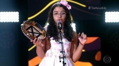Helloysa do Pandeiro canta 'O Canto da Ema' - Confira a avaliação dos técnicos!