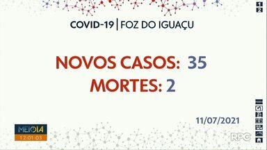 Foz registra duas mortes por Covid-19 no domingo (11) - Vitimas são dois homens de 54 e 62 anos.