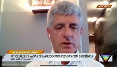 PAT tem 75 vagas para pessoas com deficiência em São José - Interessados devem comparecer ao PAT.