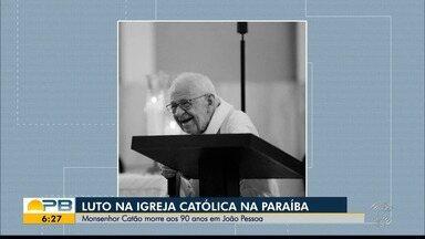 Deve ser enterrado, nesta terça-feira (13), o corpo do Monsenhor Aloísio Catão - O Monsenhor morreu em João Pessoa.