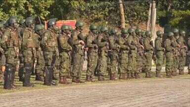 ONU avalia unidades da Marinha e do Exército para novas missões de paz - Checagem vai até o dia 20 de julho. Quando o processo terminar, as equipes podem ser chamadas a qualquer momento para atuar no exterior.