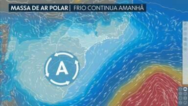 Veja como ficam as temperaturas na Grande SP ao longo da semana - Temperaturas na terça-feira (20) podem ser menores do que as registradas na manhã desta segunda (19).