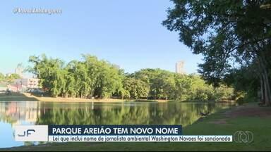 Parque Areião recebe nome de jornalista ambiental - Lei que inclui 'Washington Novaes' no nome foi sancionada.