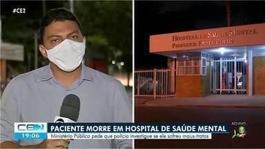 Paciente morre em Hospital de Saúde Mental - Confira mais notícias em g1.globo.com/ce