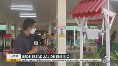 Escolas da rede estadual no Amapá definem cronogramas para retorno das aulas - Unidades devem oferecer locais para higienização, além do distanciamento entre alunos.