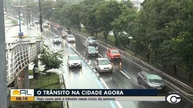 Confira o trânsito da capital nesse início de semana - Repórter Ragi Torres traz mais informações.