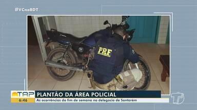 Plantão policial: Confira as ocorrências registradas no fim de semana em Santarém - Casos foram registrados na polícia.