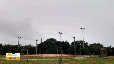Veja as fotos do amanhecer em Alagoas - Fotos foram enviadas pelo WhatsApp.