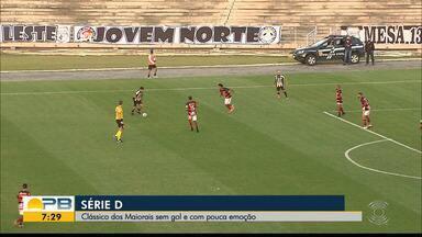 Treze 0 x 0 Campinense, pela rodada #10 da Série D - Clássico dos Maiorais termina empata sem gols, mas os dois times seguem no G-4 do Grupo 3