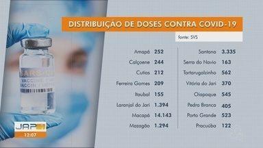 Amapá recebe no fim de semana novos lotes com 29 mil doses de vacinas contra Covid-19 - Quantitativo será direcionado para imunização do público acima de 18 anos com oferta de 1ª e 2ª doses.