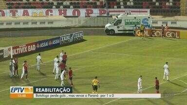 Botafogo-SP vence o Paraná pela série C do Campeonato Brasileiro - Pantera perdeu chances de gols, mas conseguiu a vitória.