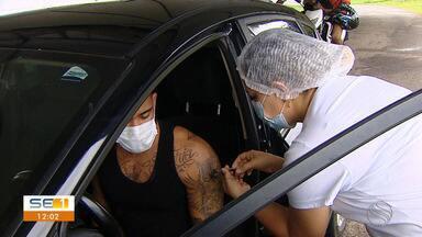 Veja como está a vacinação contra a Covid-19 em Aracaju - Veja como está a vacinação contra a Covid-19 em Aracaju.