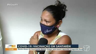 Acompanhe como foi a vacinação contra a Covid-19 na manhã desta segunda, 9, em Santarém - Confira mais detalhes na reportagem de Cissa Loyola.