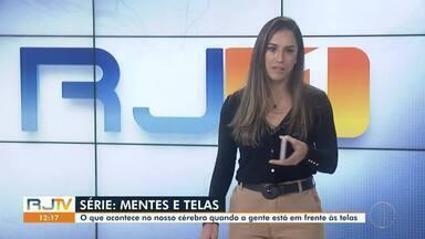 Reportagem mostra o que acontece no cérebro quando estamos em frente às telas - Confira a primeira parte da série 'Mentes e Telas', da afiliada da Globo no interior de São Paulo, a EPTV.