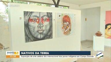 Exposição celebra povos indígenas em Campo Grande - Dia Internacional dos Povos Indígenas é celebrado nesta segunda (9)