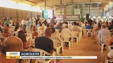 Programa Agroleite é lançado em Machadinho do Oeste - Quase R$ 30 milhões de investimentos.