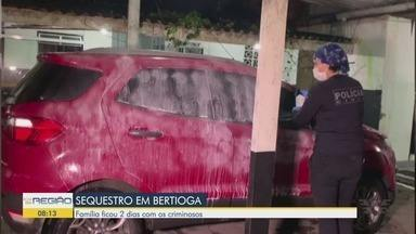Casal de idosos e filho são sequestrados em Bertioga e deixados em Guarujá - Família ficou dois dias com os criminosos, que fizeram compras e saques com os cartões das vítimas.