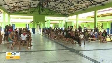 Escola na Cidade do Povo é ponto de vacinação contra Covid nesta sexta-feira (13) - Escola na Cidade do Povo é ponto de vacinação contra Covid nesta sexta-feira (13)