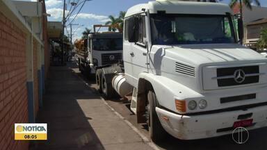 Criminosos furtam baterias de caminhões em Montes Claros - Polícia Civil investiga casos.
