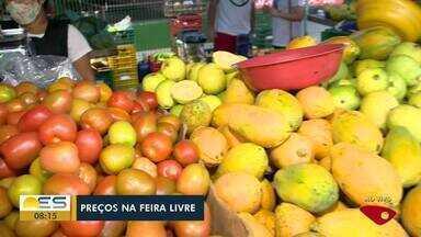 Acompanhe a feira livre de Jardim Camburi, em Vitória - Veja a seguir.