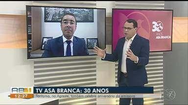 Prefeito de Toritama participa de entrevista em comemoração aos 30 anos da TV Asa Branca - Político também fala sobre os projetos para o município.