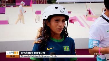 """Confira os destaques do 'Repórter Mirante' - Programa deste sábado (14) mostra a trajetória vitoriosa da maranhense Rayssa Leal, a """"Fadinha do Skate"""", até a medalha de prata nas Olimpíadas de Tóquio."""