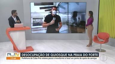 RJ1 Inter TV - Edição desta sexta-feira, 13 de agosto de 2021 - Telejornal traz os assuntos que são destaque e mexem com a rotina dos moradores do interior do Rio.