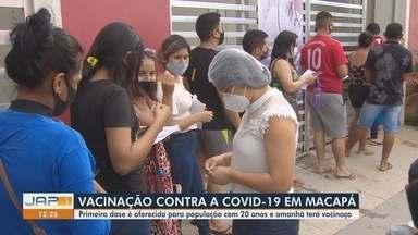 Macapá terá 'vacinaço' com 12 horas seguidas de vacinação no sábado (13) - Dia terá repescagem da imunização de jovens acima de 18 anos das 9h às 21h.