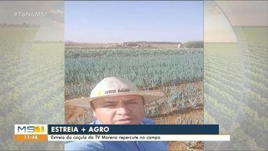 Consultor agrícola fala sobre estréia do + Agro - MS1