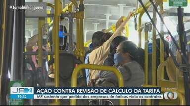 MP entra com ação para impedir revisão do cálculo da tarifa do transporte coletivo - Pedido de alteração nos contratos foi feito pelas empresas de ônibus da Grande Goiânia.