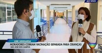 Pais reclamam da dificuldade de vacinar os filhos em São José - Veja as explicações da prefeitura.
