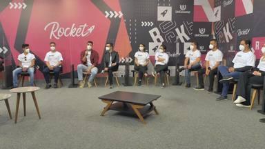 Rocket Gestão Episódio #01: conheça quais são as startups que estão na disputa - Startups Almox, Flow Tattoo, Flugo, Leadfinder, Nex Energy, Open Mei, Salsa Tec e Zeno chegam ao Rocket Gestão e conferem como foi a seleção dos jurados.