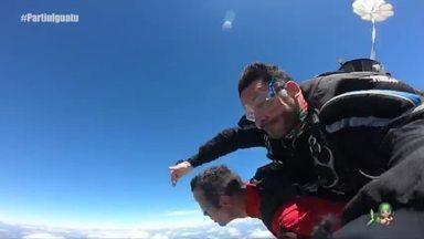 Segunda parte da viagem até Iguatu - Tep Rodrigues conhece mais sobre a cidade e salta de paraquedas