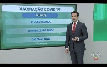 Veja quem pode tomar a vacina contra covid-19 nesta quarta-feira - Confira a reportagem exibida pelo Jornal Vanguarda.