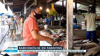 Após casos de rabdomiólise em Parintins, venda de pescado cai na cidade - Após casos de rabdomiólise em Parintins, venda de pescado cai na cidade