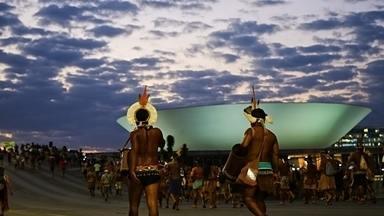 Edição de 31/08/2021 - 'Profissão Repórter' acompanha a maior manifestação indígena do país desde os anos 1980