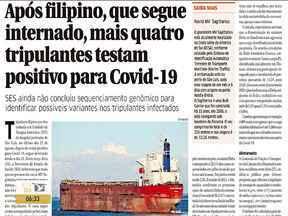 Veja as manchetes do jornal 'O Estado do Maranhão' - Acompanhe as principais notícias da publicação na manhã desta quarta-feira (1º) em São Luís.