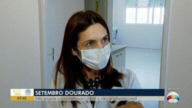 'Setembro Dourado' propõe conscientização sobre o câncer infantojuvenil - Médica oncologista conversa sobre o assunto.