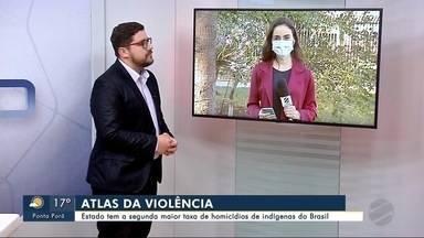 Estado tem a segunda maior taxa de homicídios de indígenas do Brasil - Bom Dia Região