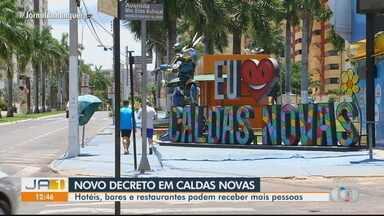 Caldas Novas publica novo decreto de flexibilização - Veja mudanças que refletem no turismo.
