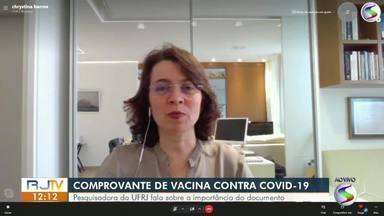 Pesquisadora fala sobre as cidades em dificuldade de completar o esquema vacinal - Segundo dados do Ministério Público, mais de oito milhões de brasileiros deixam de completar o esquema vacinal contra a Covid-19.